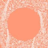 Предпосылка лета вектора флористическая Стоковая Фотография RF