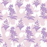 Предпосылка лета розовых цветков Нежная monochrome текстура Красочная акварель r иллюстрация вектора