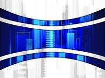 Предпосылка линии технологии и бинарного кода бесплатная иллюстрация