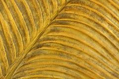 Предпосылка листового золота Стоковое фото RF
