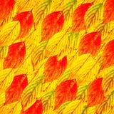 Предпосылка листьев осени цветастая Стоковое фото RF