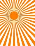 Предпосылка луча Sun (вектор) Стоковое фото RF