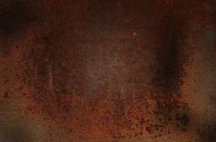 Предпосылка металла ржавчины, старый утюг Стоковое фото RF