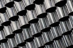 Предпосылка металла с отражениями самомоднейше Стоковое Изображение