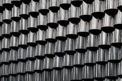 Предпосылка металла с отражениями самомоднейше Стоковое Изображение RF