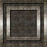 Предпосылка металла Grunge Стоковое фото RF