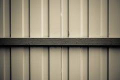 предпосылка металлическая Покрашенные стальные панели Стоковые Изображения
