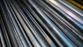 Предпосылка металлических стержней Стоковая Фотография