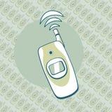 Предпосылка мобильного телефона Стоковое Изображение RF
