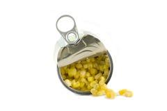 предпосылка может изолированная белизна sweetcorn Стоковые Изображения RF