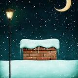 предпосылка может ноча иллюстрации конструкции рождества использовала ваше Стоковое Фото