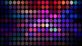 Предпосылка мозаики точек розовой голубой сирени пурпурная r иллюстрация штока