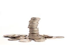 Предпосылка монетки Стоковое Изображение