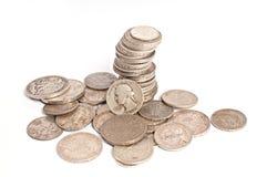 Предпосылка монетки Стоковое фото RF