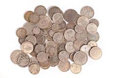 Предпосылка монетки Стоковое Изображение RF