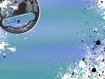 предпосылка морская Стоковое Изображение RF