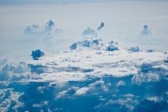 Предпосылка неба и облаков Стоковое Фото