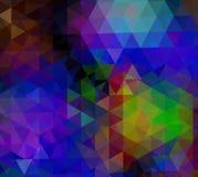 Предпосылка неона цвета тенденции иллюстрация штока