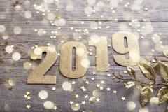 Предпосылка 2019 Нового Года стоковая фотография