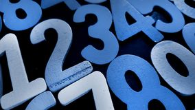 Предпосылка номеров от нул до 9 иллюстрация предпосылки нумерует вектор Текстура номеров Стоковое Фото