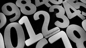 Предпосылка номеров от нул до 9 иллюстрация предпосылки нумерует вектор Текстура номеров Стоковые Фотографии RF