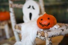 Предпосылка ночи Halloween Стоковое фото RF