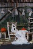 Предпосылка ночи Halloween Стоковая Фотография RF