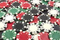 Предпосылка обломоков покера. Стоковые Фотографии RF