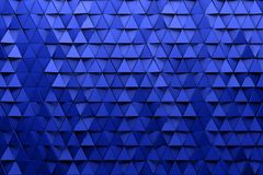 Предпосылка обоев CGI 3d триангулярная иллюстрация вектора