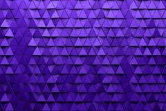Предпосылка обоев CGI 3d триангулярная иллюстрация штока
