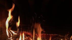 Предпосылка огня горящая акции видеоматериалы