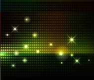 предпосылка освещает партию Стоковая Фотография RF