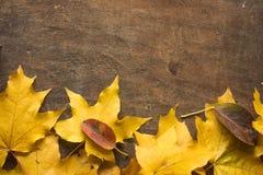 Предпосылка осени с здравствуйте! письмами осени Предпосылка осени в винтажных тонах с концепцией начала Винтажная осень все еще  Стоковое Фото