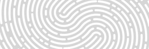 Предпосылка отпечатка пальцев, печать, знамя иллюстрация штока