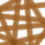 Предпосылка от коричневых прокладок фильма и фильма пробела камеры других цветов с пустыми окнами и без окон бесплатная иллюстрация
