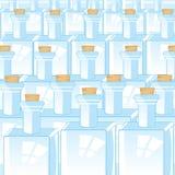 Предпосылка от пустых бутылок Стоковые Фотографии RF