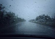 предпосылка падает вектор дождя Стоковое фото RF