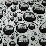 предпосылка падает вода Стоковая Фотография RF