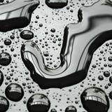 предпосылка падает вода Стоковое Фото