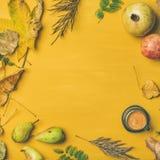 Предпосылка падения, текстура, картина с кофе эспрессо, квадратным урожаем стоковая фотография