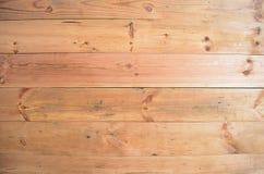 Предпосылка панели древесины сосны Орегона Стоковые Фотографии RF