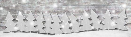 Предпосылка панорамы знамени рождества Стоковое Изображение