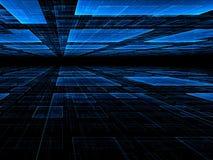 Предпосылка перспективы - изображение конспекта цифров произведенное Стоковые Изображения RF