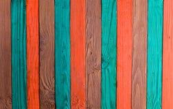 Предпосылка пестротканых деревянных доск Стоковое Фото