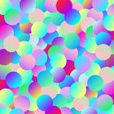 Предпосылка пестротканых шариков градиента Стоковое Фото