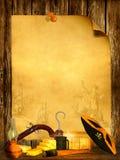 Предпосылка пирата Стоковая Фотография