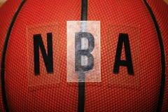 Предпосылка писем баскетбола пластиковая никто стоковые фото
