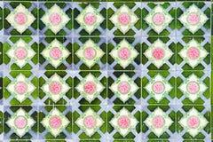 Предпосылка плитки сбора винограда Стоковые Фото