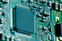 Предпосылка плиты компьютера Стоковые Фотографии RF