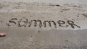 Предпосылка пляжа sand видеоматериал